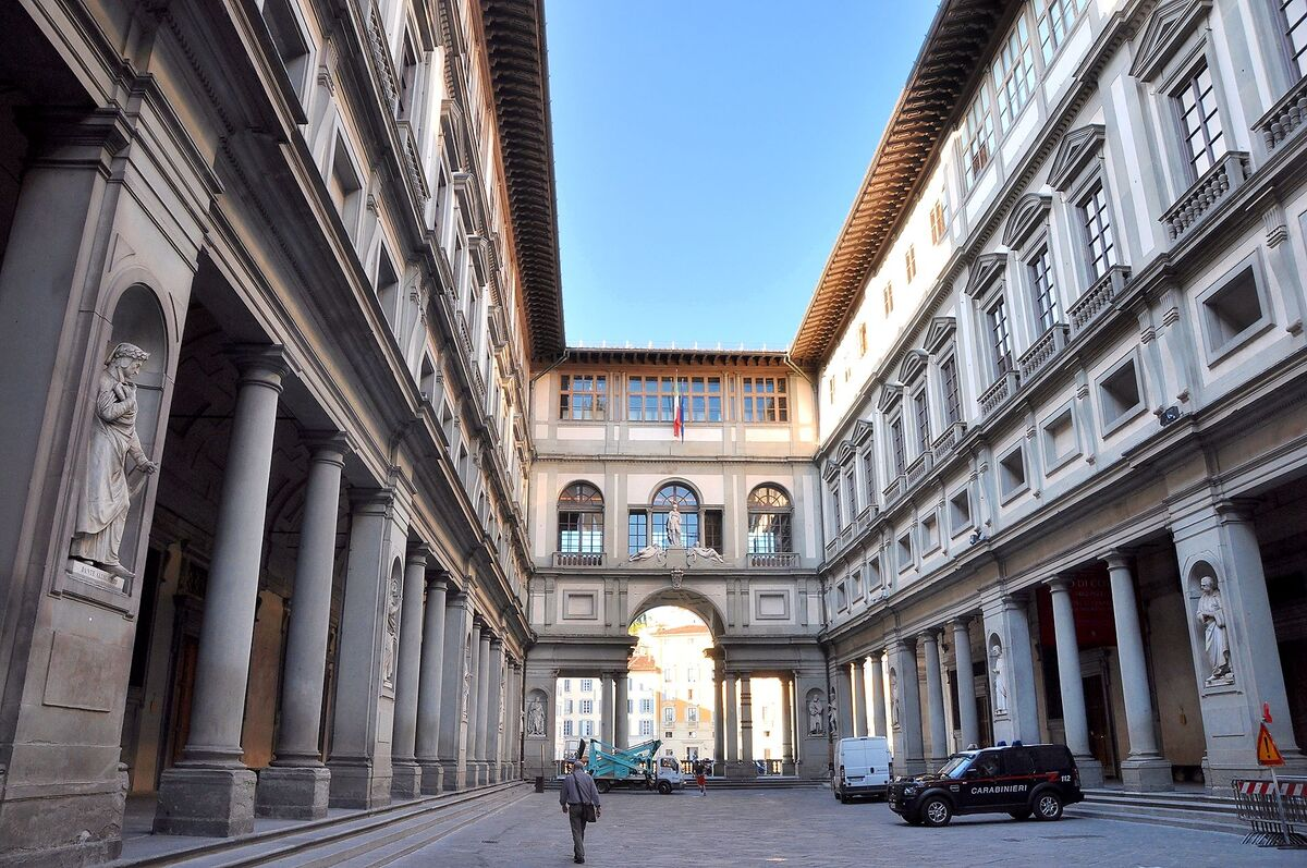 The Uffizi Gallery in Florence, Italy. Photo by Herbert Frank via Flickr.