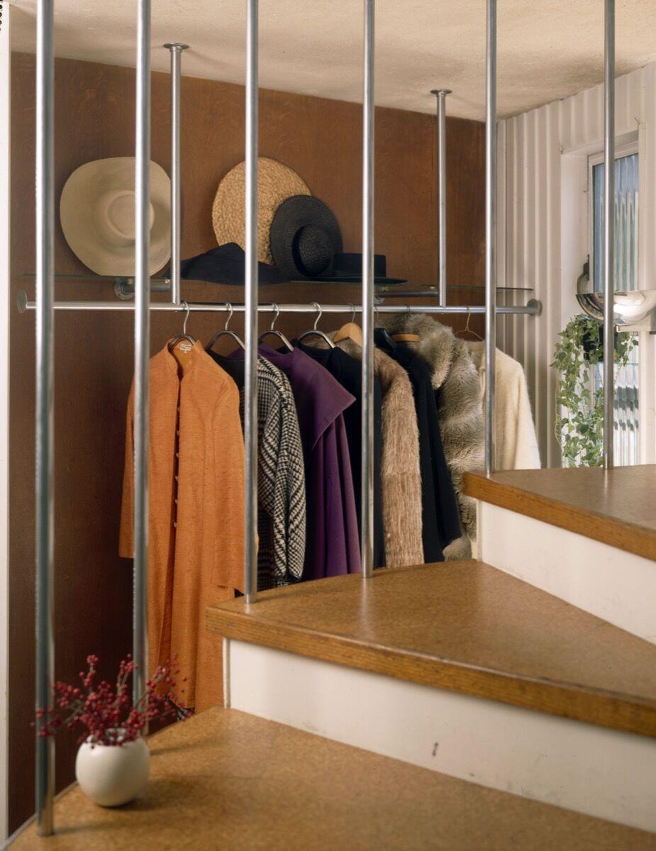 Ise Gropius' wardrobe. Courtesy of Historic New England.