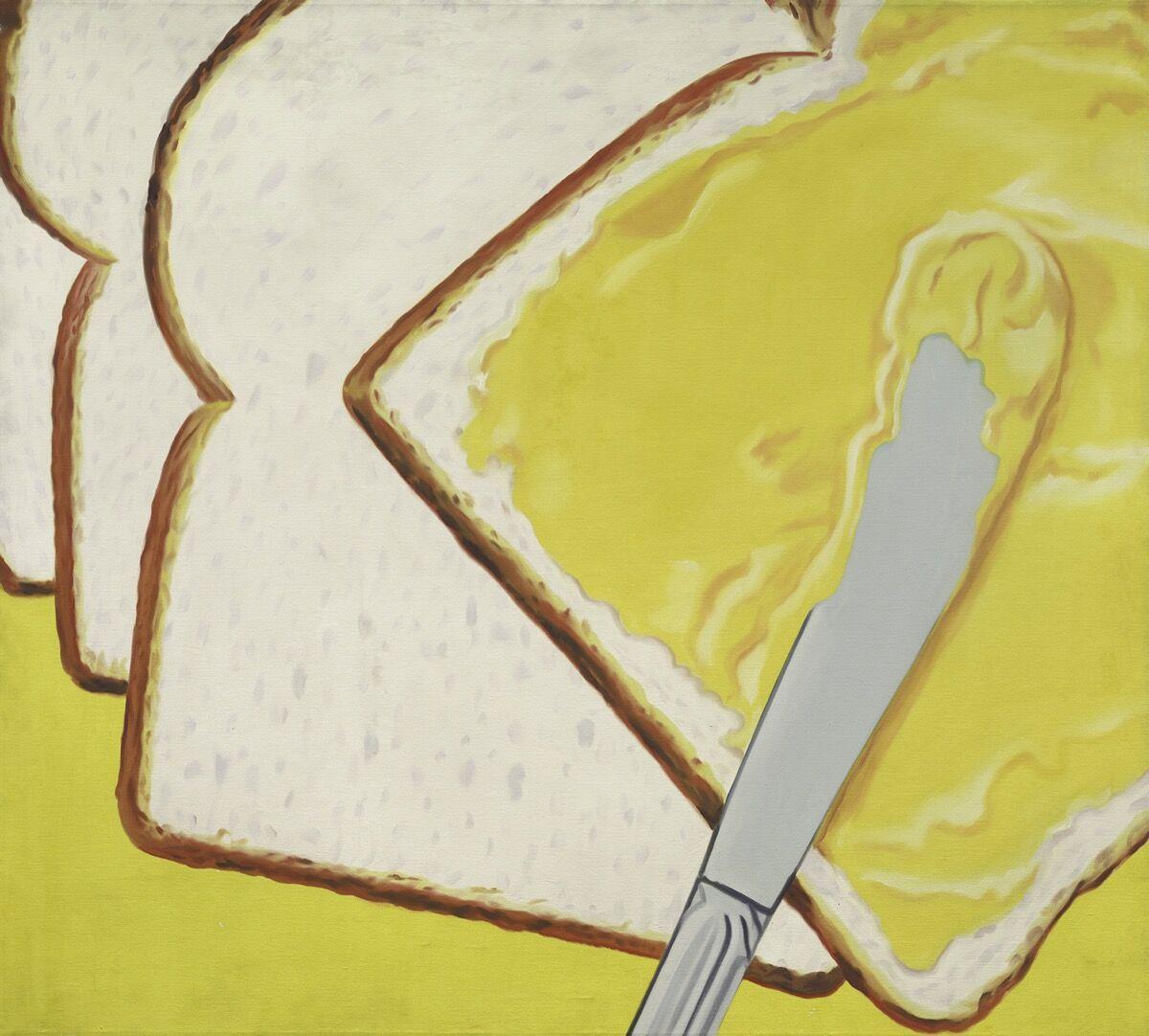 James Rosenquist, White Bread, 1964. © Estate of James Rosenquist / Licensed by VAGA at ARS, New York. Courtesy of Acquavella Galleries.