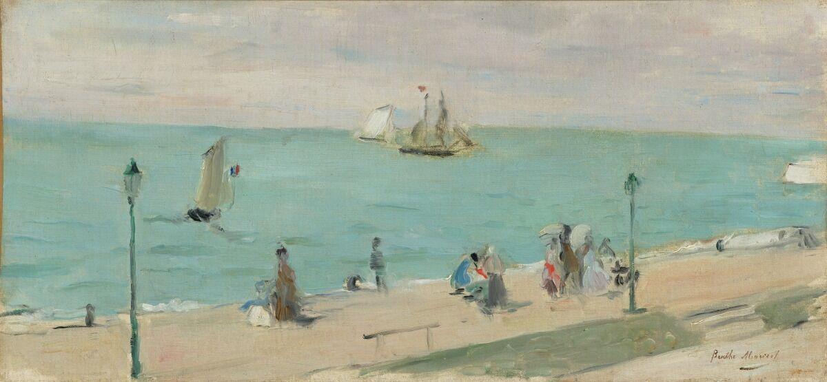 Berthe Morisot, Sur la Plage, 1873. Courtesy of the Virginia Museum of Fine Arts.