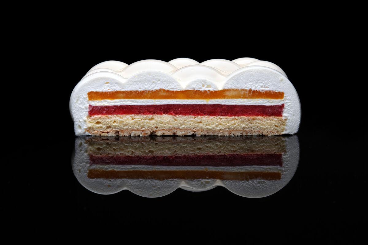 Mousse cake by Dinara Kasko. Courtesy of Dinara Kasko.