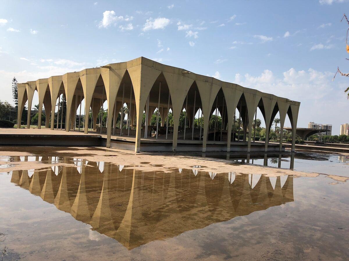 Oscar Niemeyer's Museum of Lebanon, Rashid Karami International Fairground Tripoli. Photo © UNESCO Beirut Office.