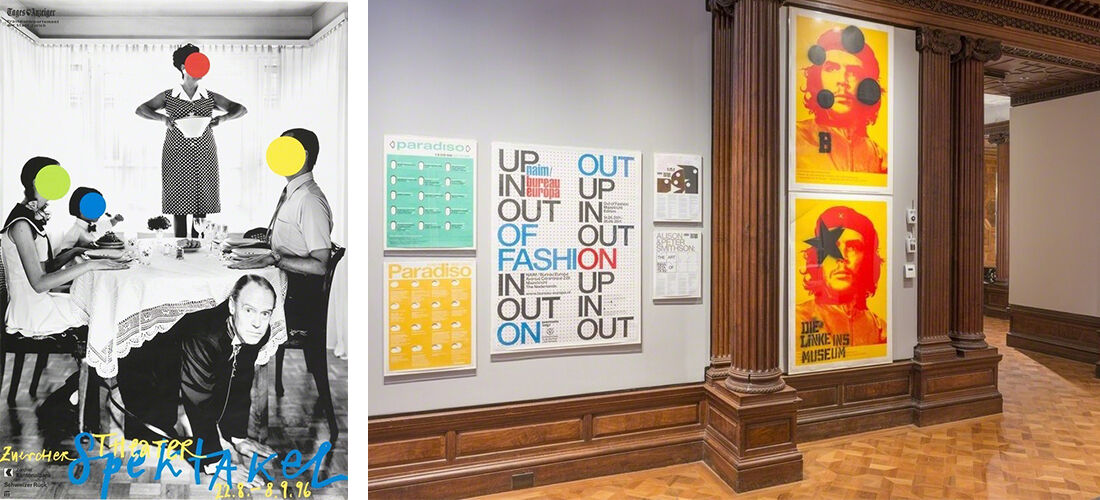 "Installation view of ""How Posters Work"" at the Cooper Hewitt. Courtesy of the Cooper Hewitt."