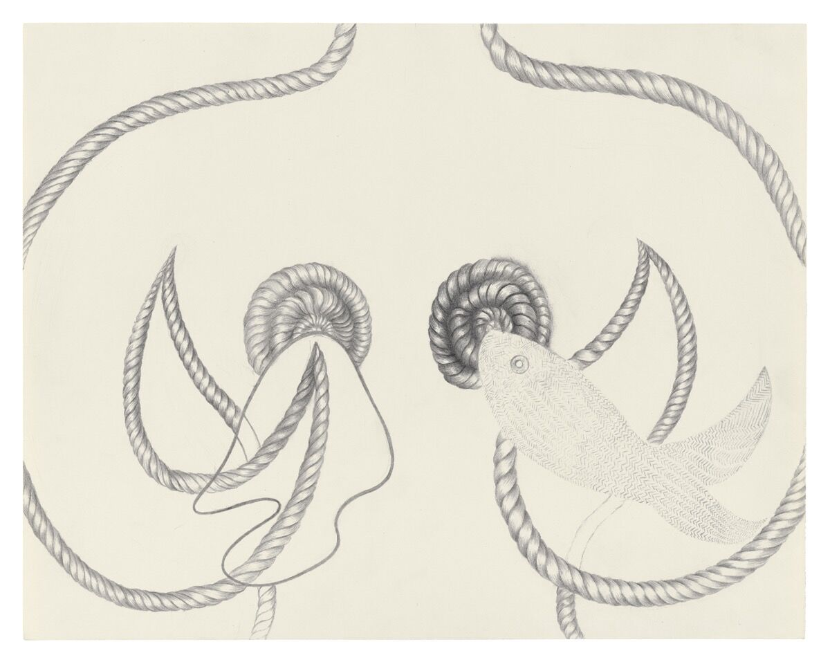 Suellen Rocca, Fish Dream Two, 1997. Courtesy of Matthew Marks Gallery.