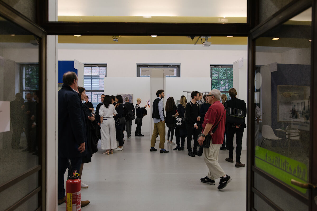 Visitors at the 2019 edition of Liste. Photo by Diana Pfammatter, courtesy Liste.