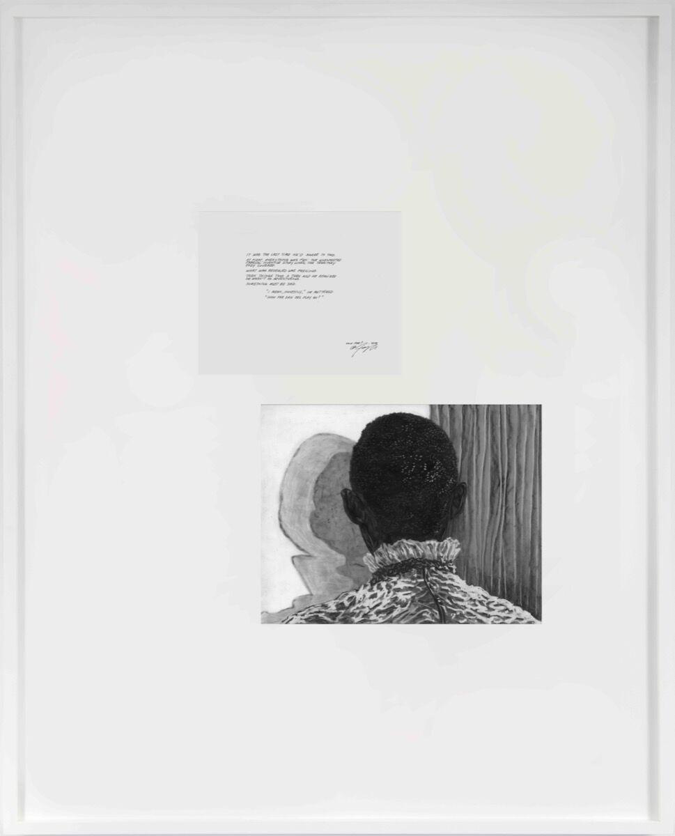 Toyin Ojih Odutola, How Far, 2020. © Toyin Ojih Odutola. Courtesy of the artist and Jack Shainman Gallery, New York.