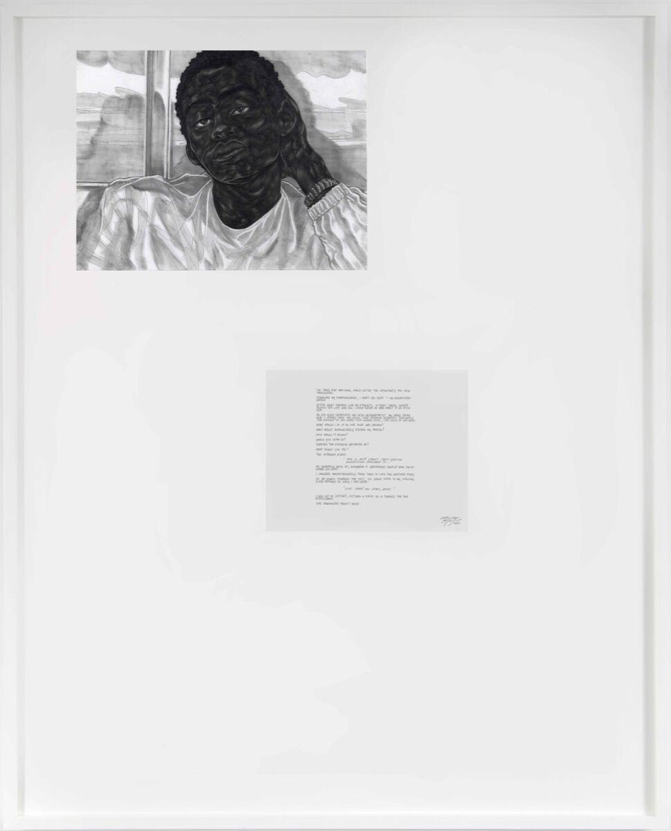 Toyin Ojih Odutola, Every Inch, 2020. © Toyin Ojih Odutola. Courtesy of the artist and Jack Shainman Gallery, New York.