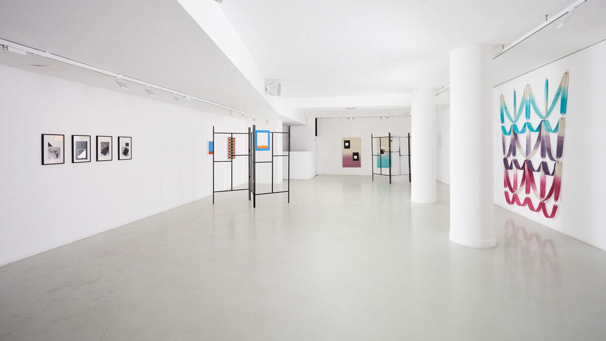 """Installation view of """"Ittenology"""" at Rook & Raven, London. Courtesy ofRook & Raven and the artists."""