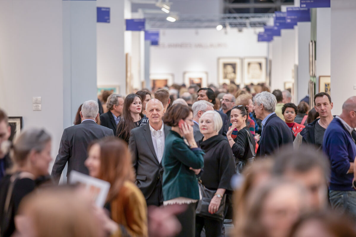 IFPDA Fine Art Print Fair, image courtesy IF