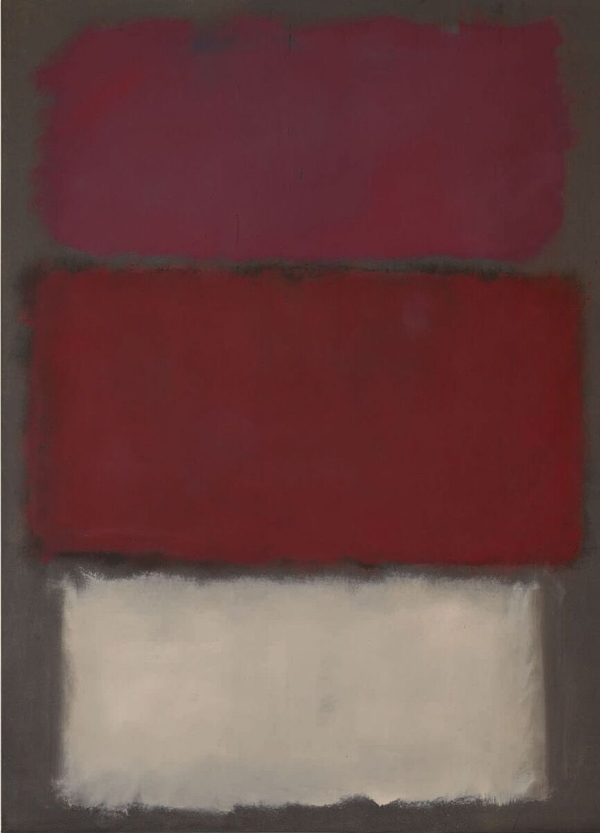Mark Rothko, Untitled , 1960. Courtesy of Sotheby's.