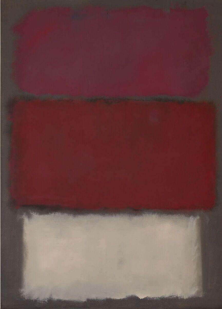 Mark Rothko, Sin título, 1960. Cortesía de Sotheby & # x27; s.
