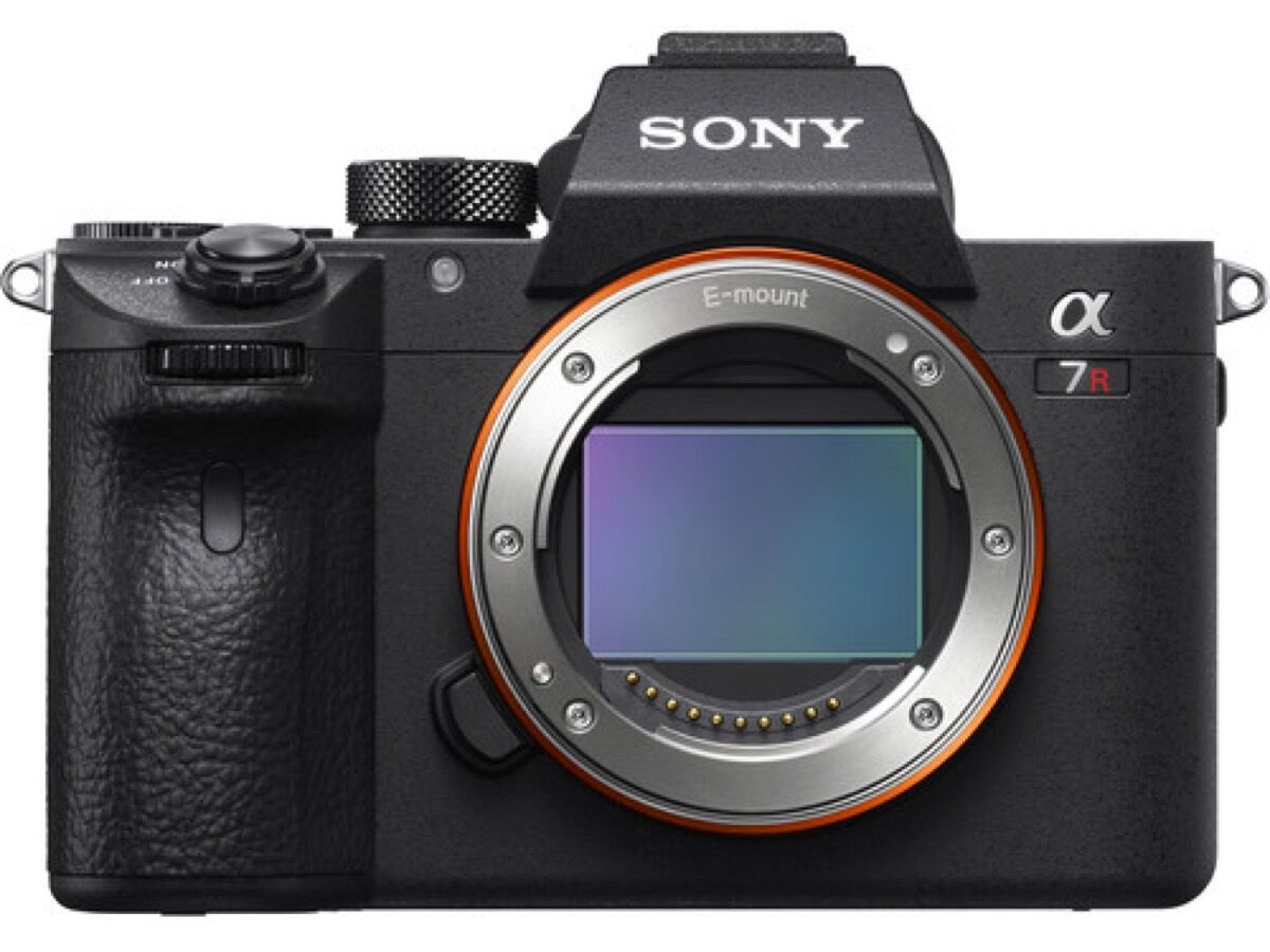 Product shot of Sony a7R III. Courtesy of Sony.