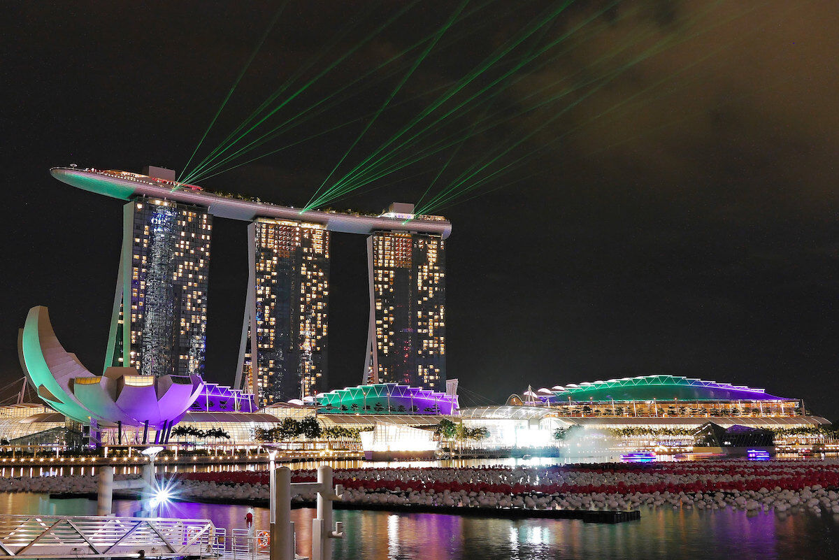 Singapore's Marina Bay Sands Expo and Convention Centre. Image via Flickr.