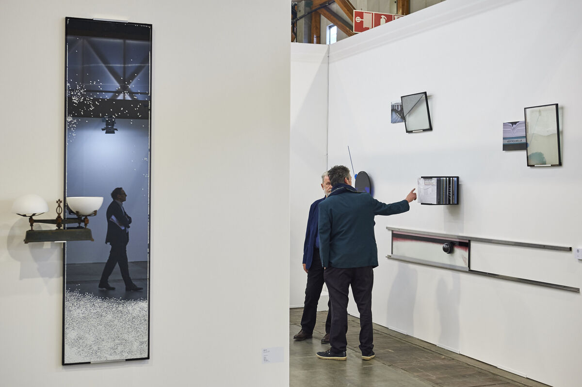 Courtesy of Art Brussels 2015.