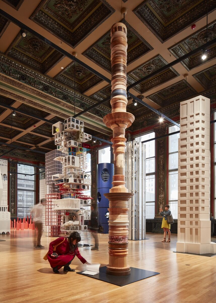 Installation view of 6a architects, Returning, 2017. Courtesy of Chicago Architecture Biennial, © Tom Harris.