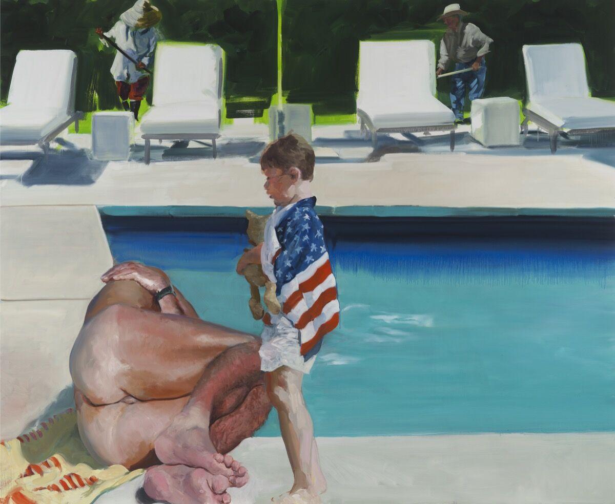 Eric Fischl, Late America, 2016. © Eric Fischl. Courtesy of the artist and Skarstedt, New York.