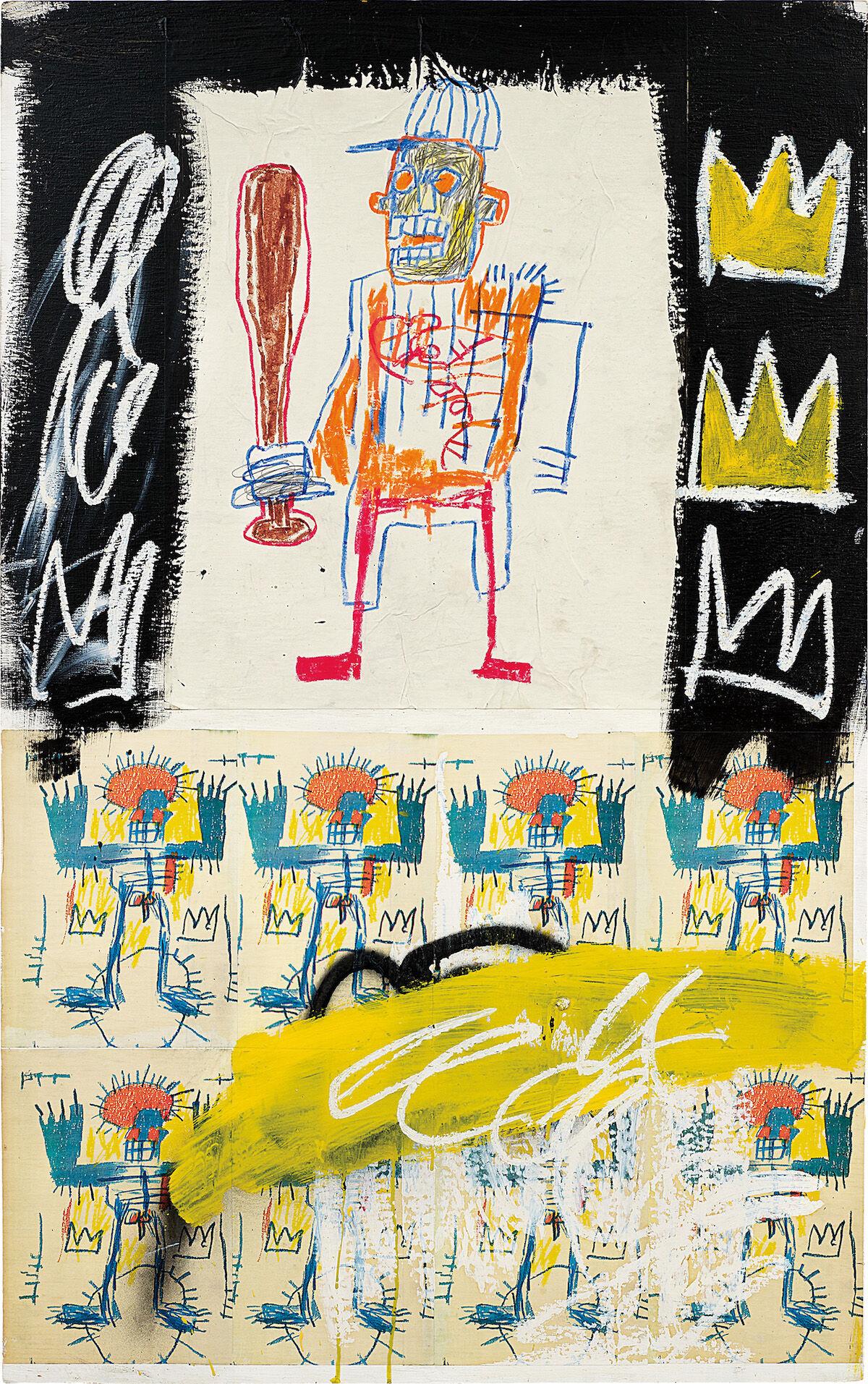 Jean-Michel Basquiat, Untitled, 1981. Courtesy Phillips.