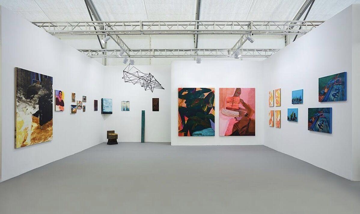 Installation view of Capsule Gallery's booth at West Bund Art & Design, 2017. Photo by @capsuleshanghai, via Instagram.