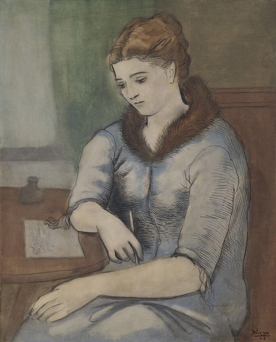 Pablo Picasso, La Lettre (Le Réponse), 1923. Courtesy of Christie's.