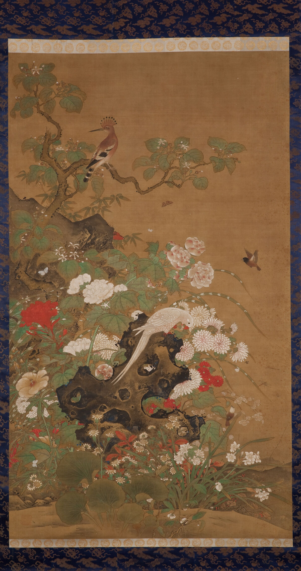 Hasegawa Tōhaku, Flowers and Birds of Four Seasons, 16th–18th century (Momoyama–Edo period).