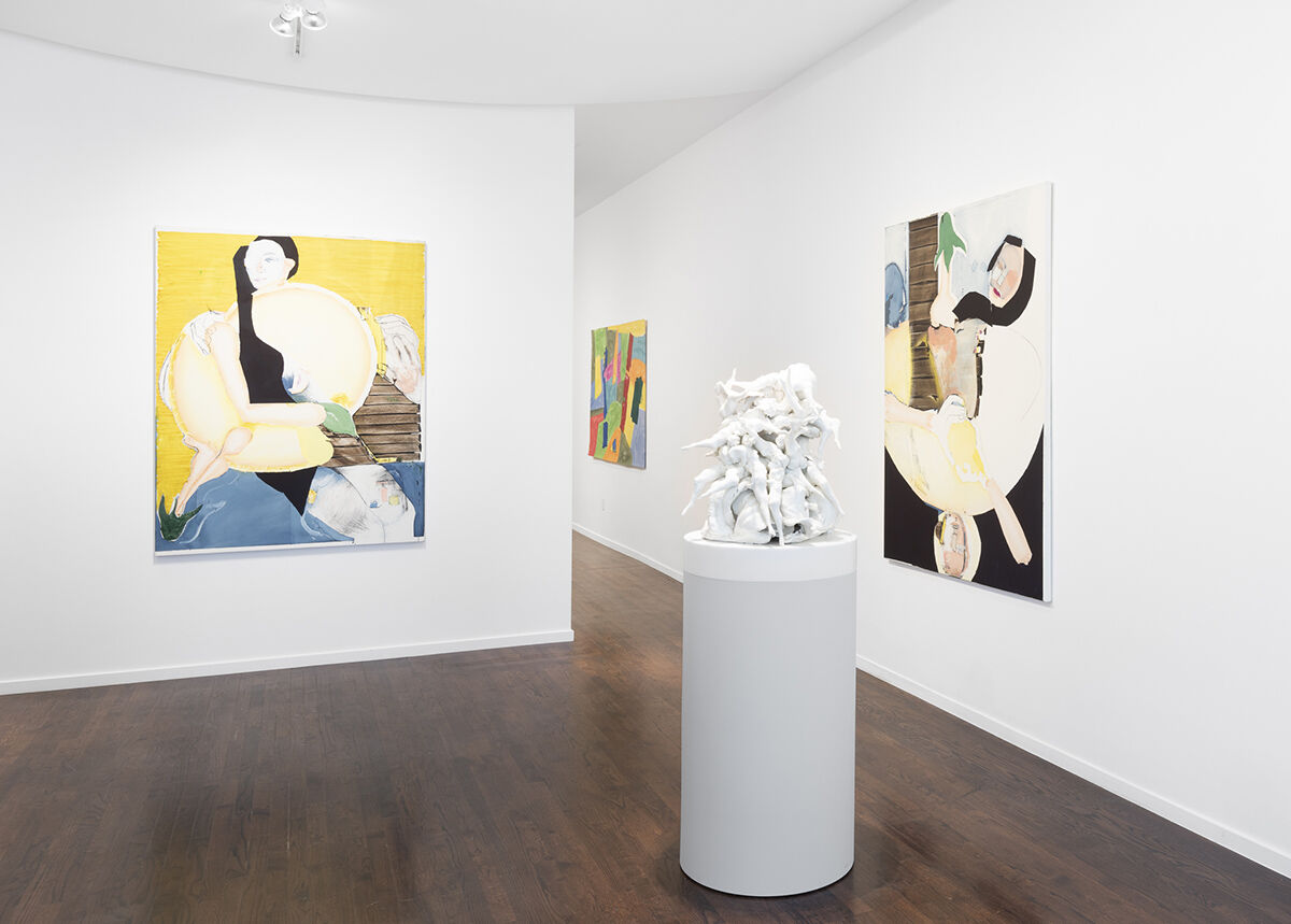 """Installation view of """"Correspondence"""" at White Cube, Aspen, 2021. Photo by Tony Prikryl. Courtesy of White Cube."""