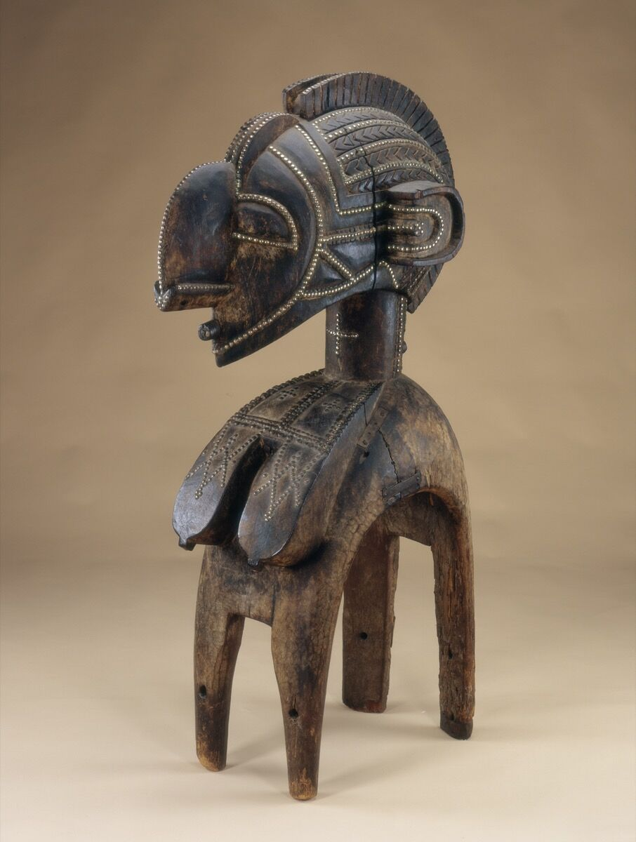Unidentified artist from the Baga region, Guinea, Great Mother Headdress (D'mba), late 19th‒early 20th century. Courtesy of The Baltimore Museum of Art.