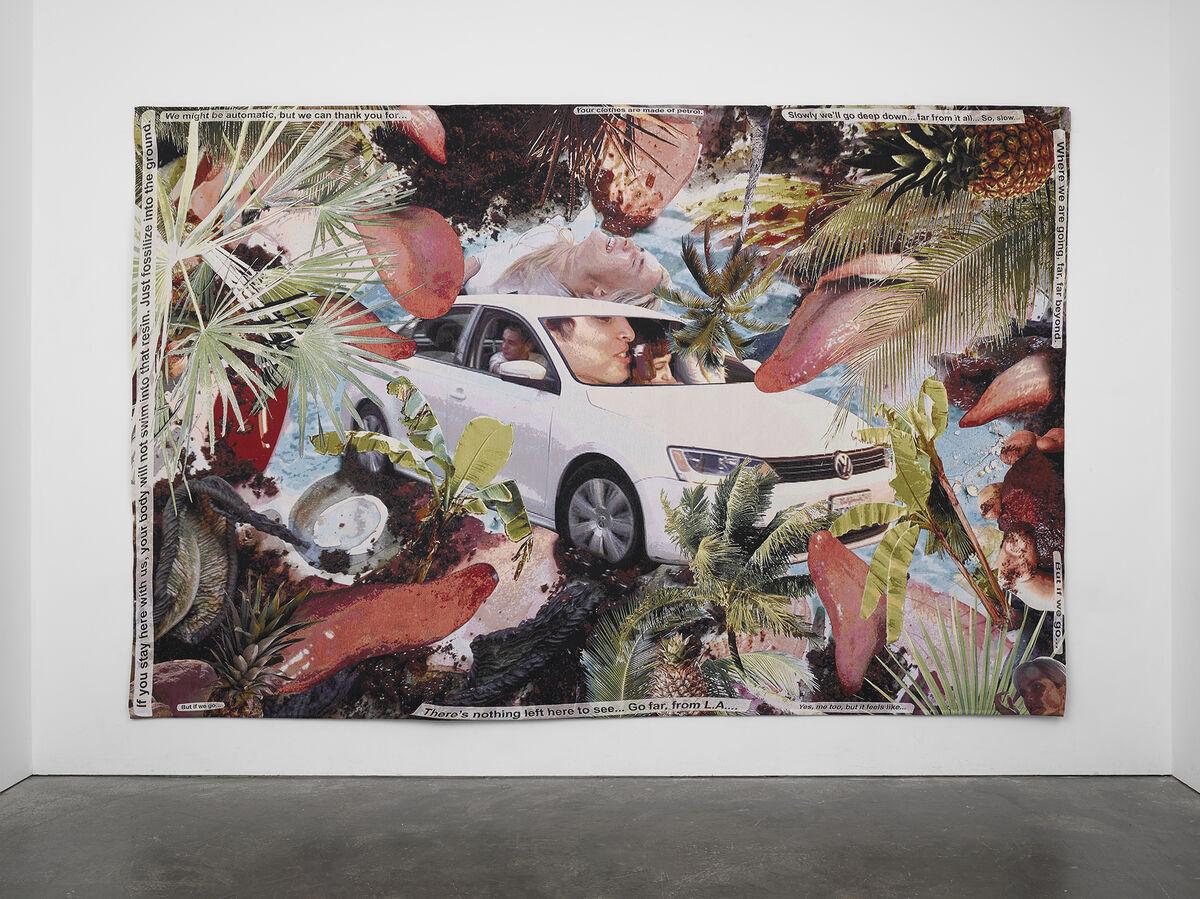 Laure Prouvost, Lèche Car, 2019. © Laure Prouvost. Courtesy of Lisson Gallery.