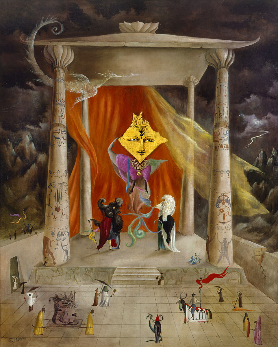 Leonora Carrington, Temple of the Word. Courtesy of Mary-Anne Martin / Fine Art.