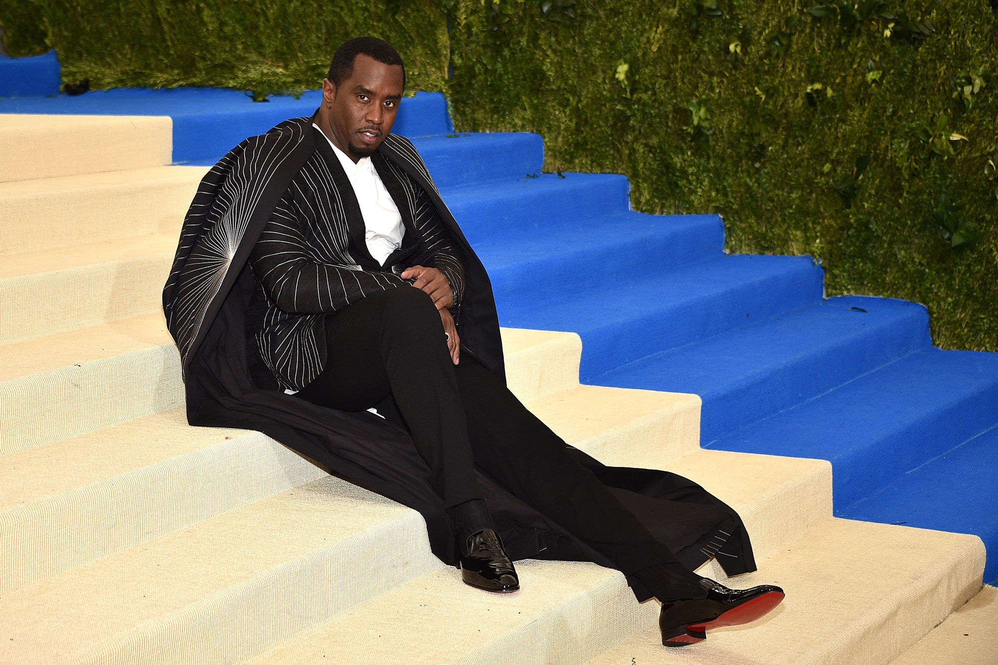 Portrait of Sean Combs by Kevin Mazur/WireImage.