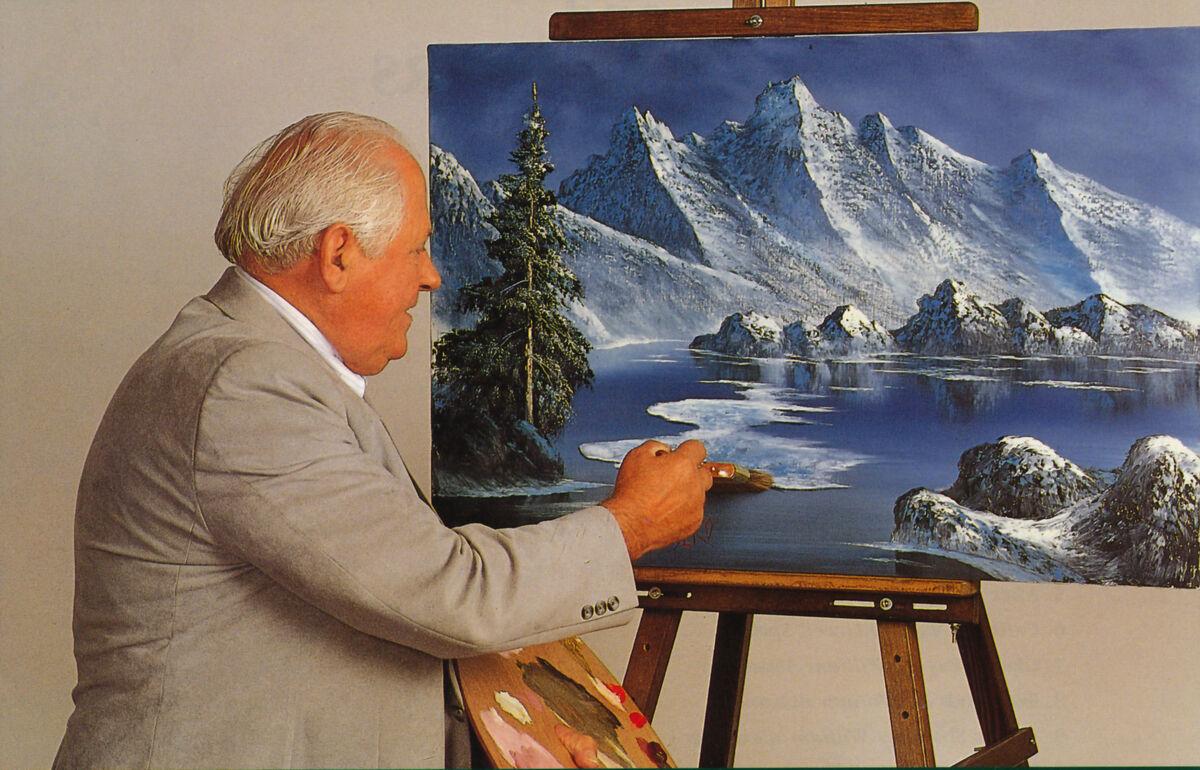 Bill painting. Courtesy of Alexander Art.