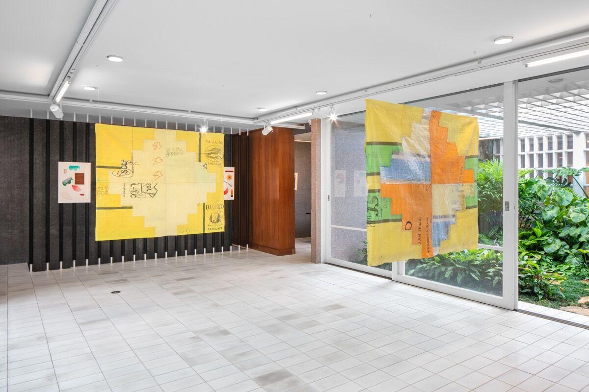 Installation view at Luciana Brito Galeria presented by Herlitzka + Faria, 2020. Photo by Gui Gomes. Courtesy of Galeria Jaqueline Martins.
