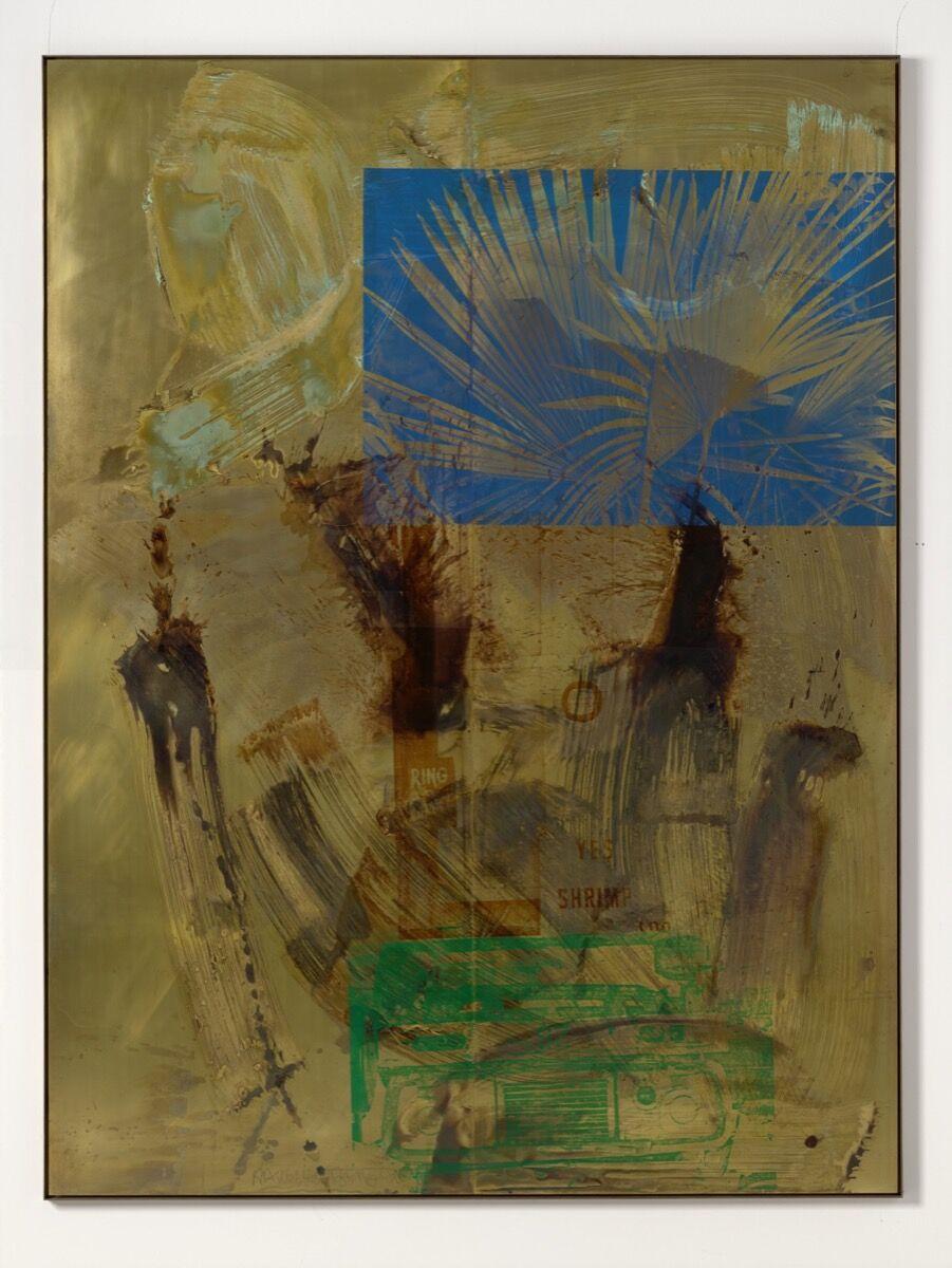 Robert Rauschenberg, Everglade (Borealis), 1990. Photo by Ulrich Ghezzi. © Robert Rauschenberg Foundation / Adagp, Paris, 2019. Courtesy of the artist and Galerie Thaddaeus Ropac.