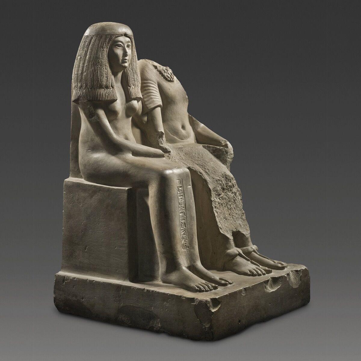 Baket-Mut, Chantress of Amun, Egypt, ca. 1334-1274 BC. Courtesy of Safani Gallery Inc.