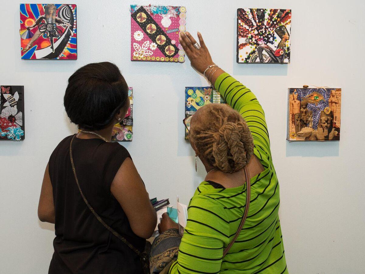 Courtesy of Newark Museum Collage Program, New Jersey, and Aroha Philanthropies Seeding Vitality Arts U.S. Initiative.