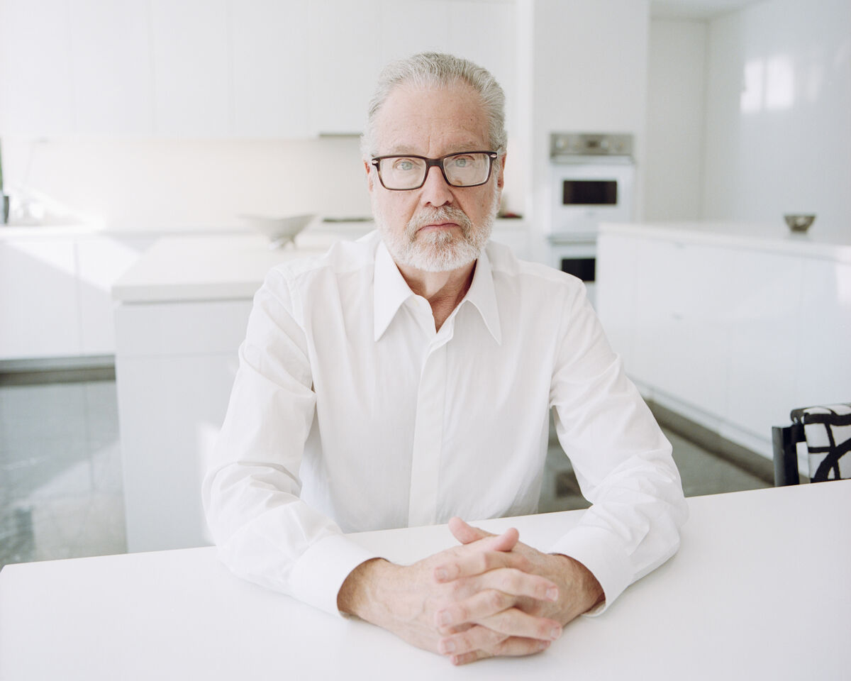 Portrait of Howard Rachofsky in his Dallas home. Photo by Valerie Chiang for Artsy.