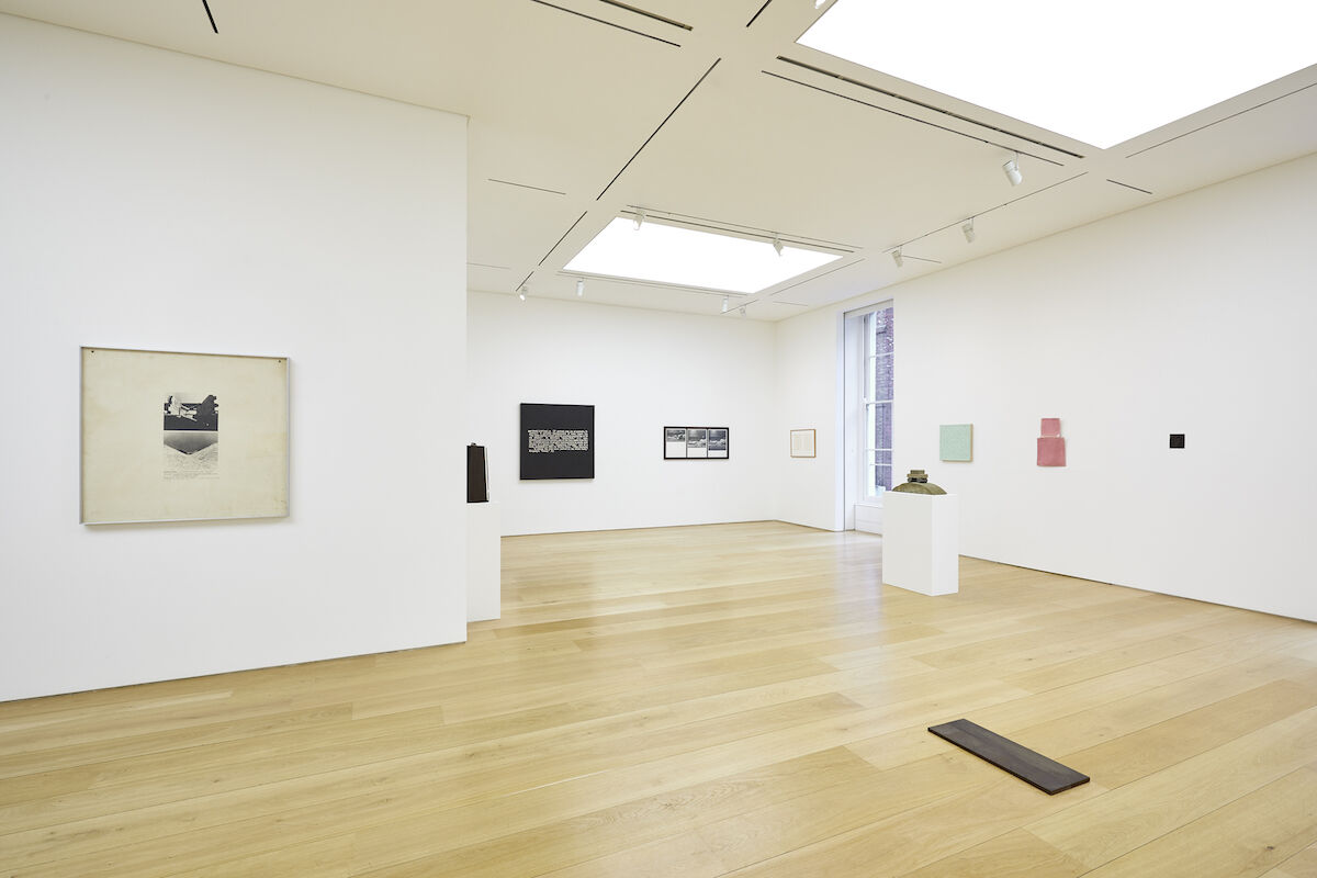 """Installation view of """"Selected Works from the Collection of Holly Solomon 1968-1981"""" at Marlborough Contemporary. Courtesy of Marlborough, New York and London. Photo by Luke Walker."""