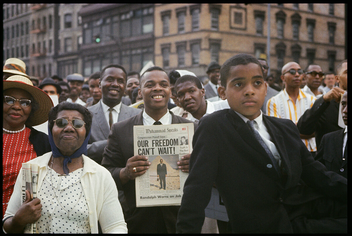 Gordon Parks,  Untitled, Harlem, New York,  1963. Courtesy and © The Gordon Parks Foundation.