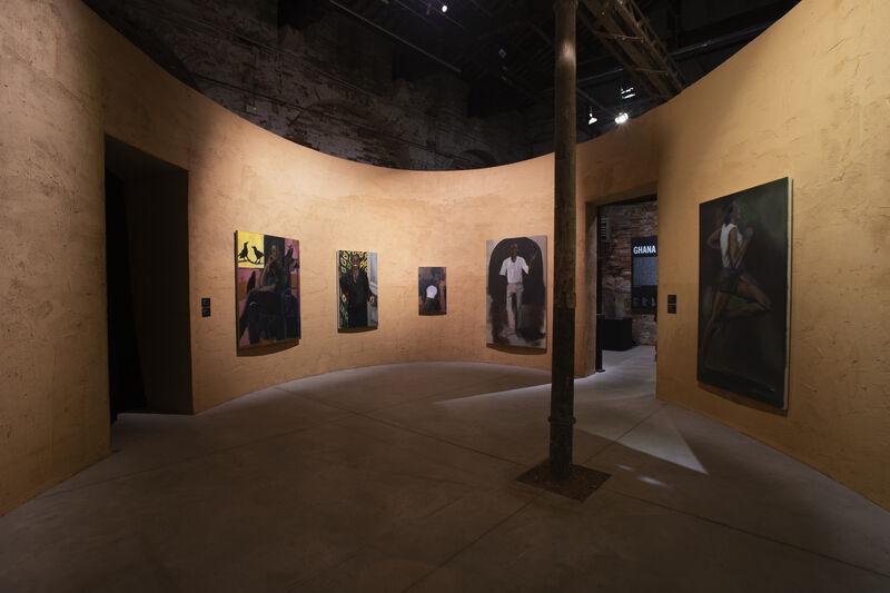 "Ghana Pavilion, ""Ghana Freedom"""