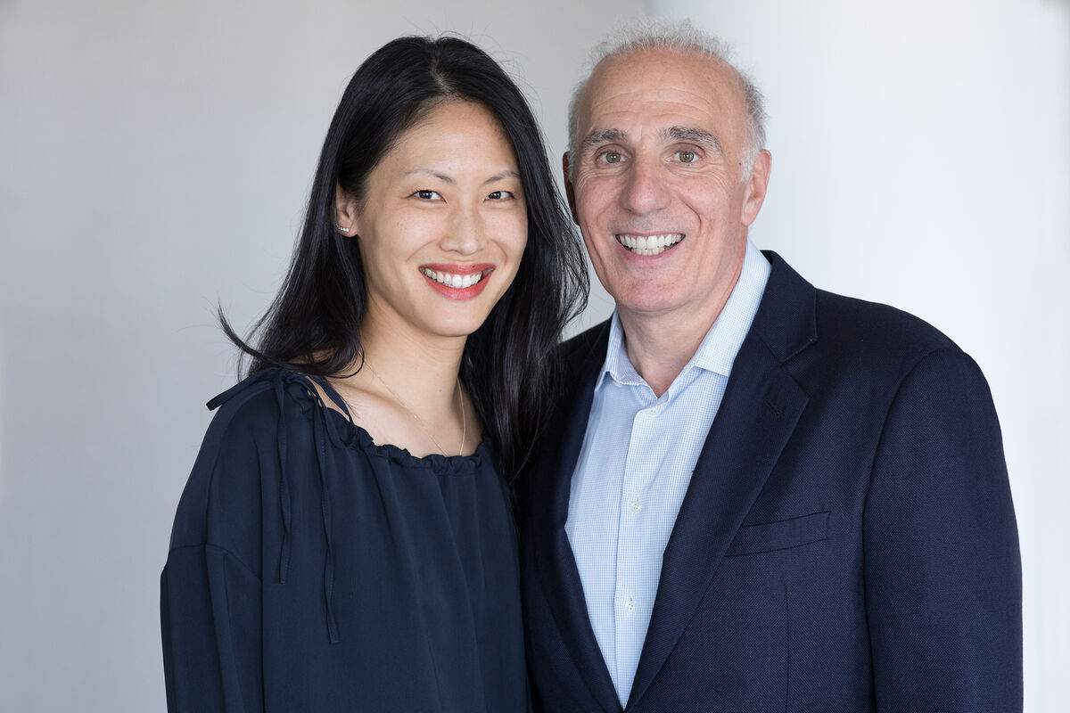 Portrait of Emily Wei Rales and Mitchell Rales by Julie Skarratt. Courtesy of Glenstone Museum.