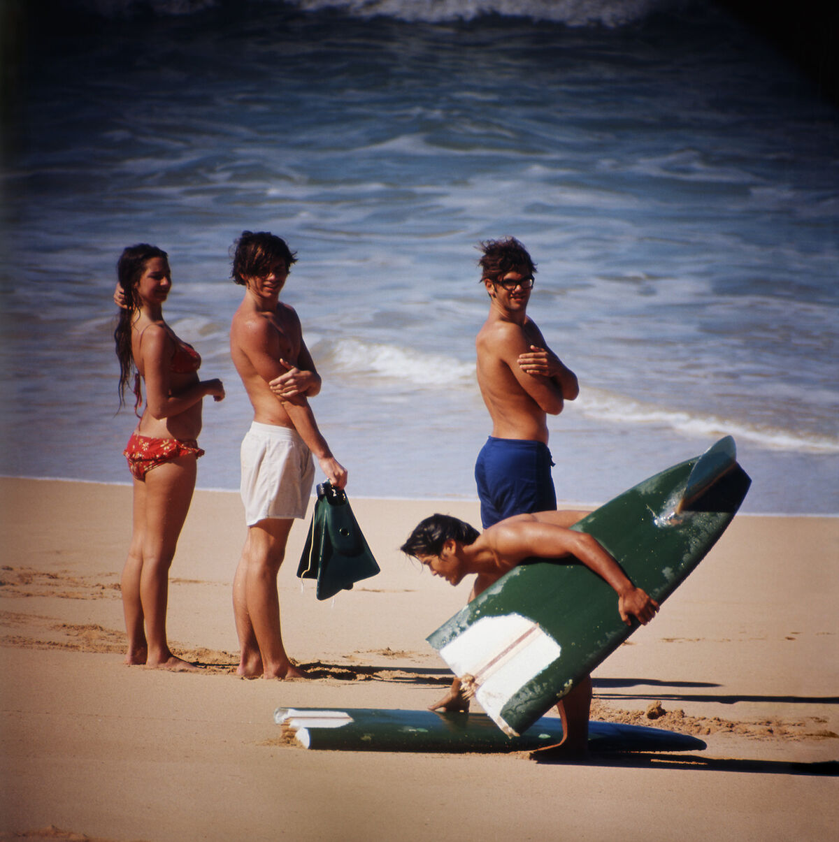 LeRoy Grannis, Pipeline (No.  77),  1965. Courtesy of M+B.