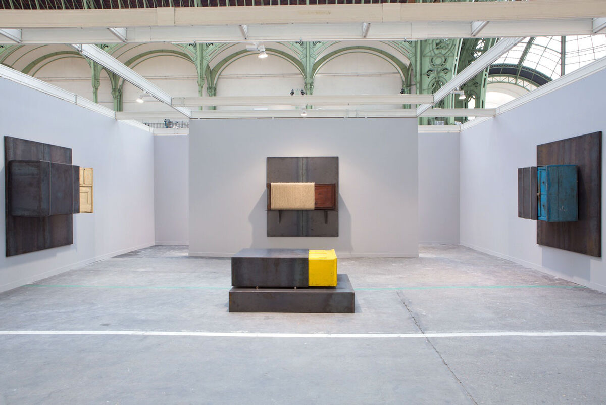 Installation view of Gavin Brown's enterprise's booth at FIAC, 2016. Photo courtesy of Gavin Brown's enterprise.
