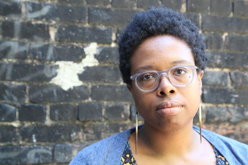 Portrait of Jamillah James. Photo by Anna Carnochan.