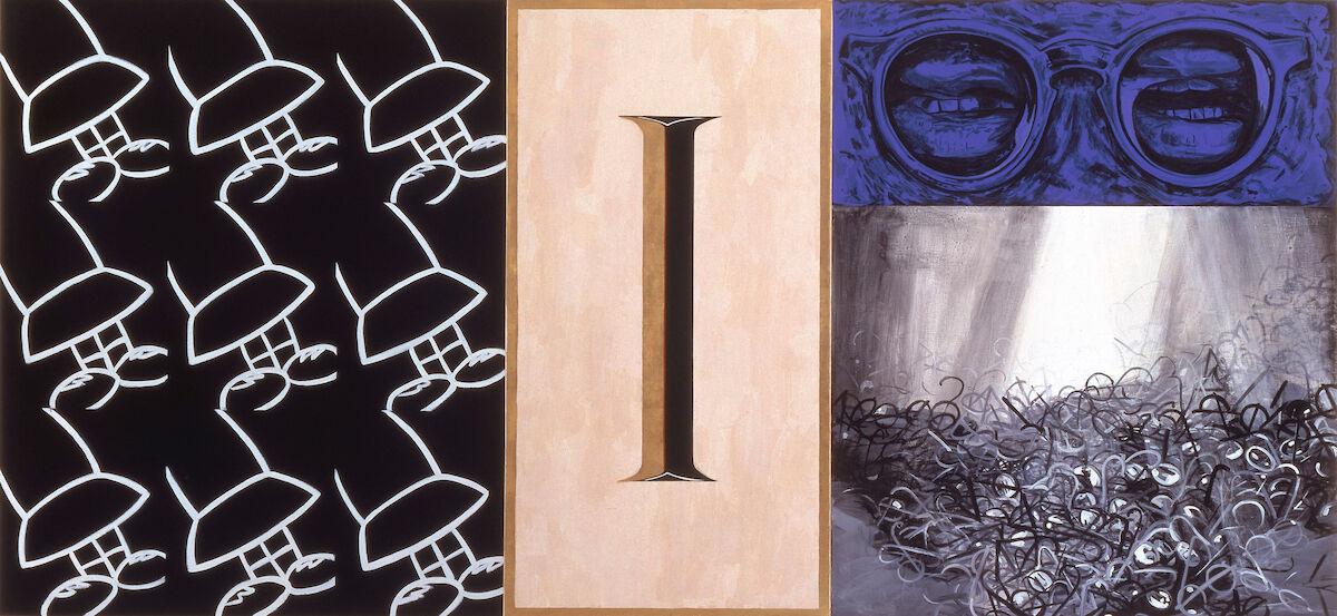 Deborah Kass, Subject Matters, 1989-90. © 2014 The Jewish Museum. Courtesy of the Jewish Museum.