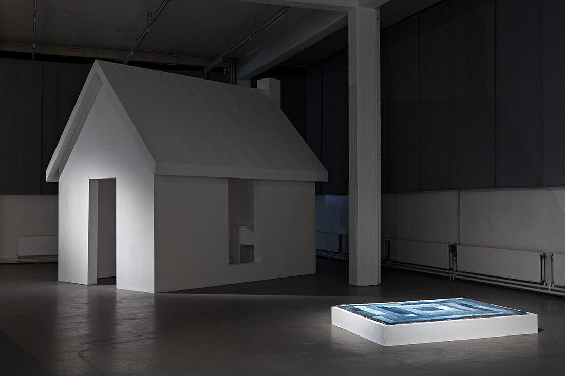 James Benning, Decoding Fear, 2015.Installation view,Kunstverein in Hamburg. Photo: Fred Dott.