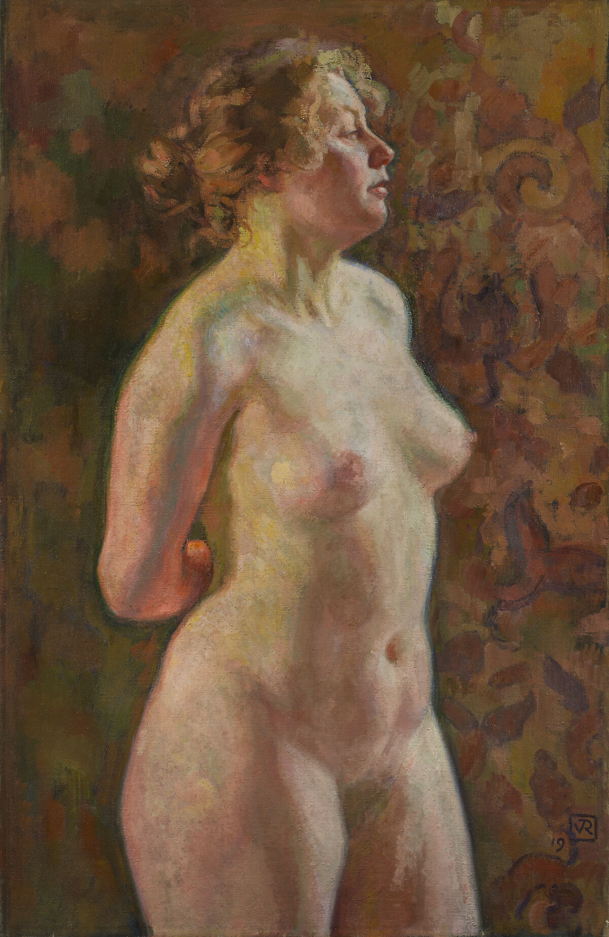 Théo van Rysselberghe, Torse de blonde (Blond Nude), 1919. Courtesy of Jack Kilgore & Co., Inc. and TEFAF New York.