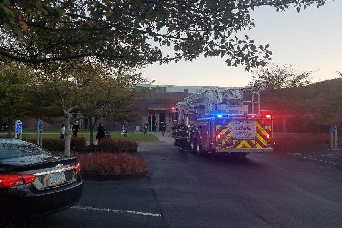A fire broke out at Dia:Beacon, damaging a Mary Corse