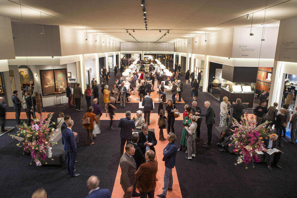 Fairgoers at this year's TEFAF Maastricht. Photo courtesy TEFAF.