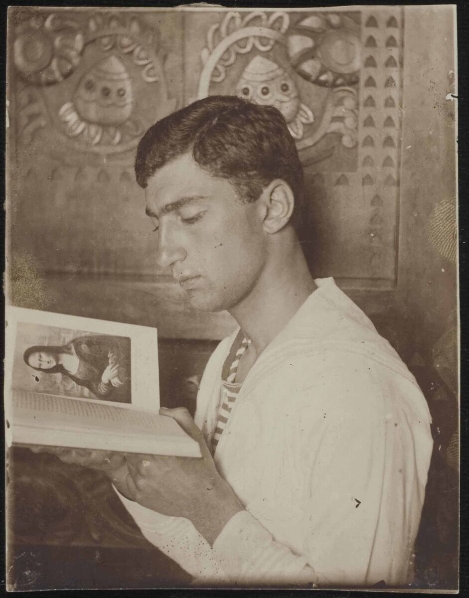 Anonymous, Iliá Zdanévich, 1912. Courtesy of the Museo Nacional Centro de Arte Reina Sofía.