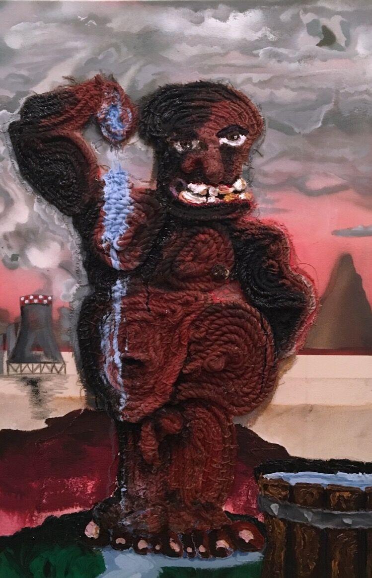 Bryce Zackery, Coal Miner, 2017. Courtesy of the artist.