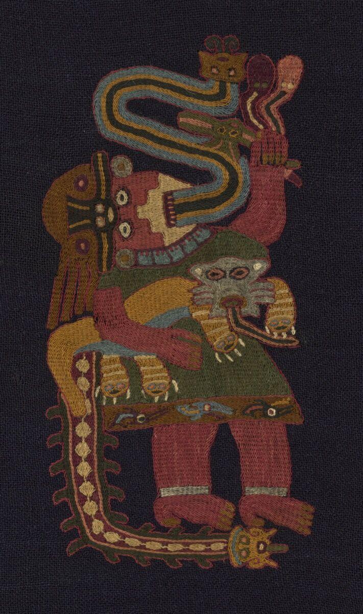 Mantel (Detail), 100 B.C.E.–C.E. 200. Courtesy of The Art Institute of Chicago.